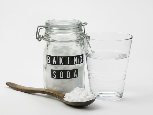 DIY skincare, baking soda exfoliation